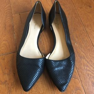 Cole Haan Amalia Black Skimmer Flats Size 7 1/2B